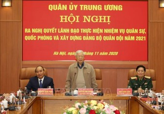 Tổng Bí thư, Chủ tịch nước chủ trì Hội nghị thực hiện nhiệm vụ quân sự, quốc phòng 2021