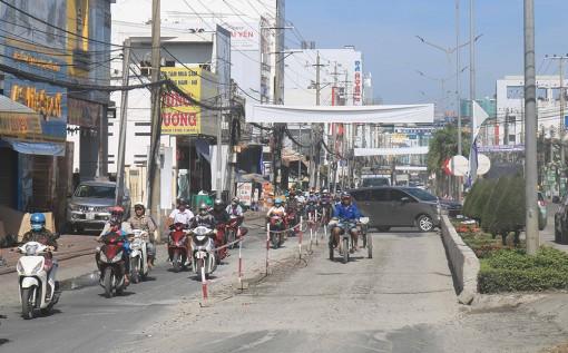 Đề nghị đảm bảo tiến độ thi công nâng cấp Quốc lộ 91