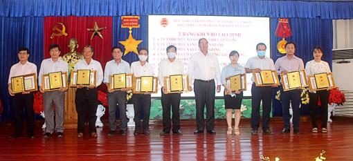 Cục Thuế tỉnh An Giang tuyên dương tổ chức, cá nhân thực hiện tốt nghĩa vụ nộp thuế năm 2019