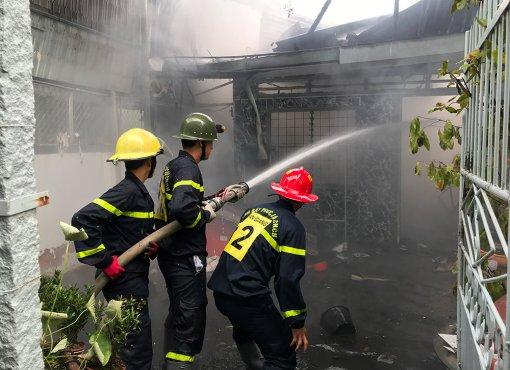 Hỏa hoạn thiêu rụi 1 căn nhà ở TP. Long Xuyên