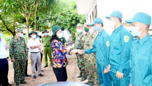 Bí thư Tỉnh ủy An Giang kiểm tra công tác phòng, chống dịch bệnh COVID-19 địa bàn biên giới