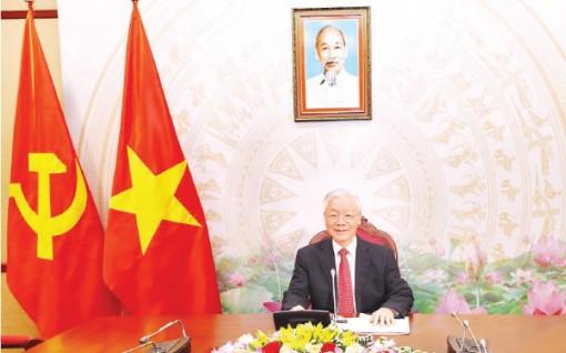 Tổng Bí thư, Chủ tịch nước Nguyễn Phú Trọng điện đàm với Bí thư thứ nhất Đảng Cộng sản Cu-ba Ra-un Ca-xtơ-rô