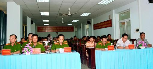 Công an huyện Châu Thành mở đợt cao điểm tấn công, trấn áp tội phạm, đảm bảo an ninh trật tự