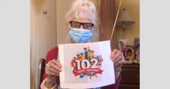 Cụ bà 102 tuổi hai lần đánh bại COVID-19