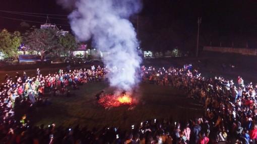 Lễ hội nhảy lửa của người Pà Thẻn ở Hà Giang