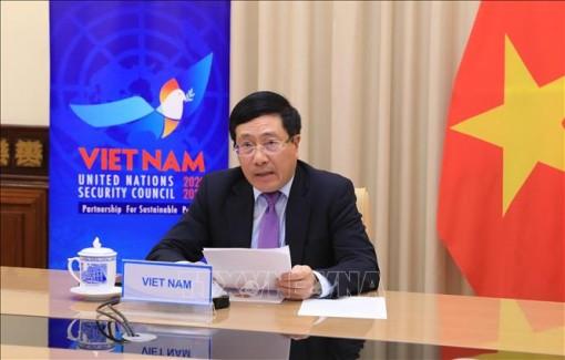 Phó Thủ tướng Phạm Bình Minh tham dự Phiên Thảo luận mở Cấp cao HĐBA LHQ