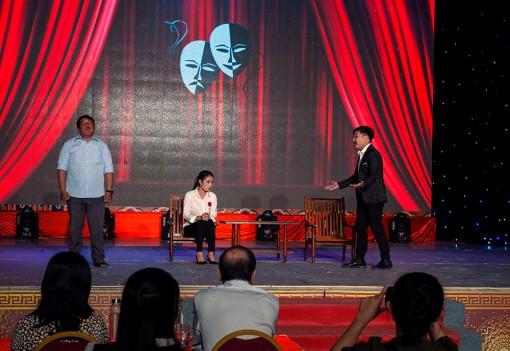 Tổng kết trao chứng nhận lớp bồi dưỡng kỹ thuật biểu diễn sân khấu năm 2020