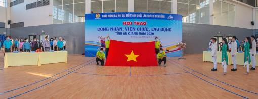 Khai mạc Hội thao CNVC-LĐ tỉnh An Giang lần thứ năm 2020, chào mừng Đại hội lần thứ XIII của Đảng