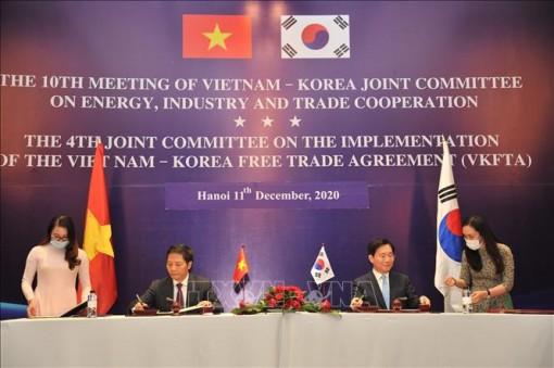 Ký kết thỏa thuận cộng gộp xuất xứ sản phẩm dệt may với Hàn Quốc