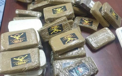Phát hiện hơn 665 kg ma túy giấu trong container