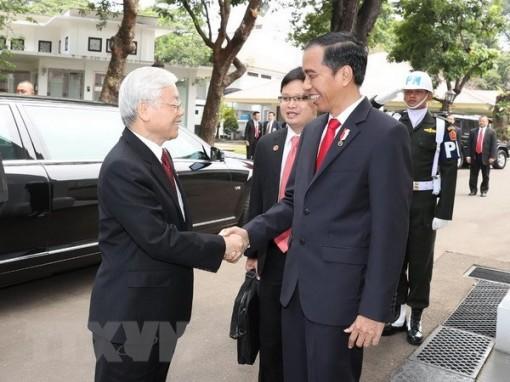 Quan hệ Việt Nam và Indonesia không ngừng được củng cố trong 65 năm