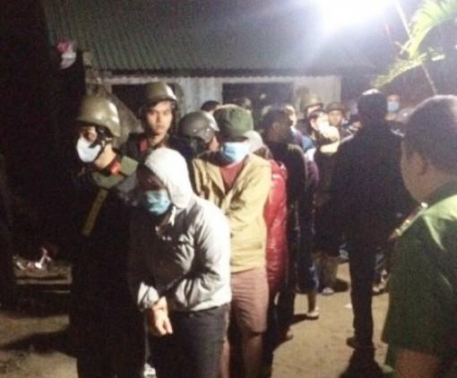 Đột kích, triệt phá ổ đánh bạc quy mô lớn tại Bình Định