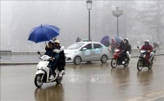 Bắc Bộ, Bắc Trung Bộ trời tiếp tục rét, Tây Nguyên và Nam Bộ mưa dông