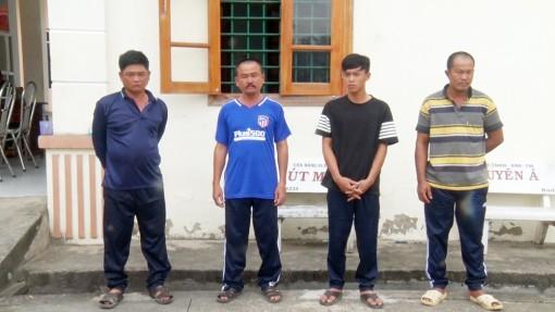 An Giang: Bắt người thua đá gà đòi tiền chuộc, 4 đối tượng bị bắt