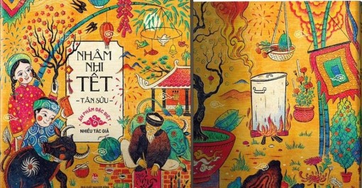 Sách Tết: Không gian nghệ thuật Việt trong những giai phẩm xuân