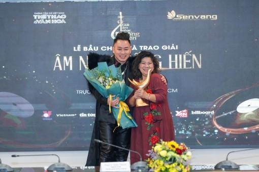 Giải thưởng âm nhạc Cống hiến lần thứ 16-2021: Ba lần gọi tên Tùng Dương