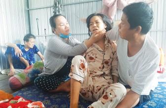 Một bệnh nhân nghèo cần được giúp đỡ