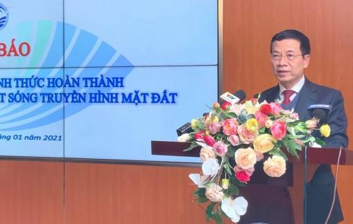 Việt Nam công bố hoàn thành số hóa truyền hình mặt đất