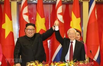 Tổng Bí thư Nguyễn Phú Trọng gửi điện mừng Tổng Bí thư Kim Jong-un