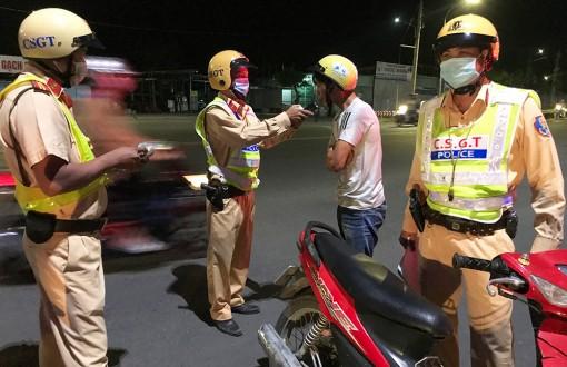 An Giang: Ra quân xử lý các phương tiện vi phạm trật tự an toàn giao thông