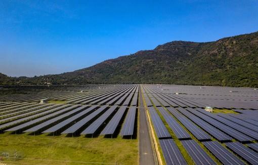 Tập đoàn Sao Mai hoàn thành nhà máy điện mặt trời công suất 210MWp