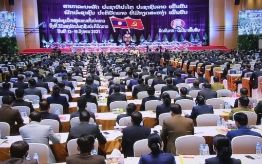 Khai mạc trọng thể Đại hội Đảng NDCM Lào lần thứ XI