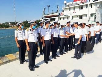 Kết thúc chuyến đi thăm, chúc Tết cán bộ, chiến sĩ và nhân dân trên các đảo Tây Nam