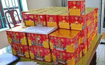 Bắc Ninh: Thu giữ hơn 100 bệ pháo hoa nổ