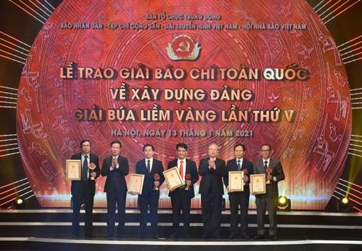 Lễ trao Giải báo chí toàn quốc về xây dựng Đảng lần thứ 5