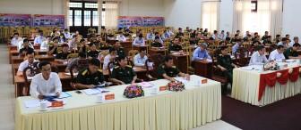 Sơ kết thực hiện Quy chế phối hợp giữa Cục Chính trị Quân khu 9 và Ban Tổ chức Tỉnh ủy, Thành ủy năm 2020