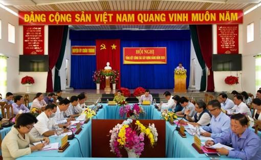 Huyện ủy Châu Thành: Tổng kết công tác xây dựng Đảng năm 2020