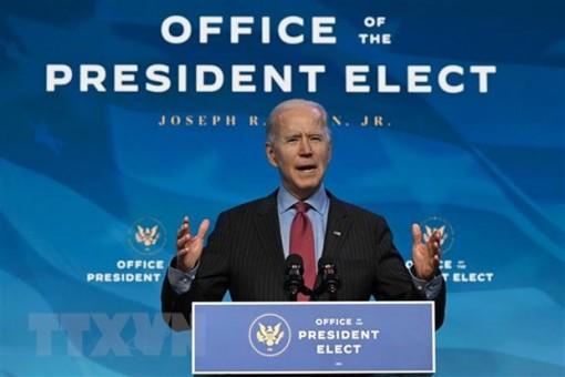 Tổng thống đắc cử Joe Biden cam kết gói hỗ trợ kinh tế 1.900 tỷ USD