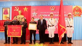 """Viện Kiểm sát nhân dân (VKSND) tỉnh An Giang đón nhận danh hiệu """"Anh hùng lao động"""""""