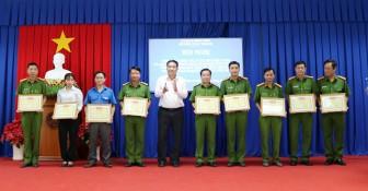 Châu Thành tăng cường phòng, chống tội phạm và đảm bảo trật tự an toàn giao thông