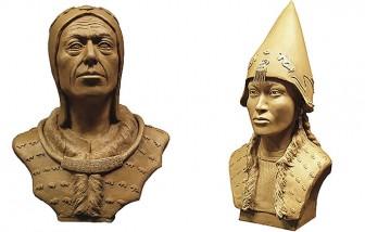 """Kinh ngạc đôi nam nữ """"trở về"""" từ mộ cổ đầy vàng 2.600 năm"""