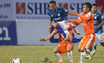Hà Đức Chinh tỏa sáng, SHB Đà Nẵng đánh bại CLB TP.HCM