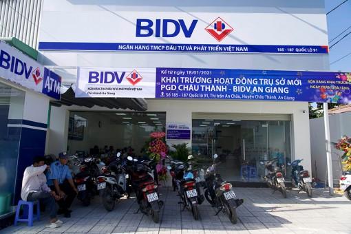Phòng Giao dịch Châu Thành – BIDV An Giang chính thức hoạt động trụ sở mới