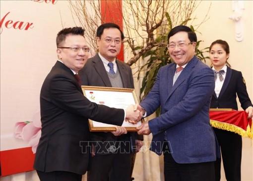 Bộ Ngoại giao tôn vinh các cơ quan báo chí vì sự nghiệp ngoại giao Việt Nam
