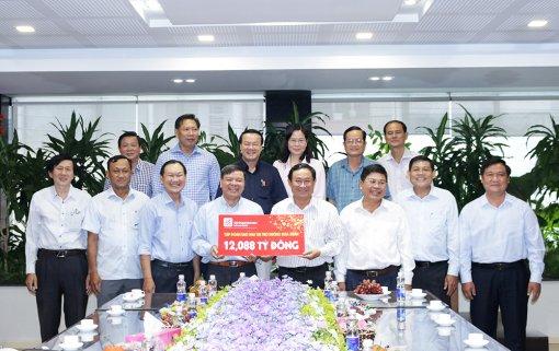 Sao Mai tài trợ các hoạt động chào xuân Tân Sửu ở An Giang