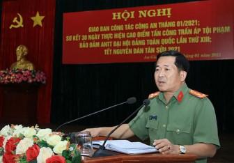Chỉ định đại tá Đinh Văn Nơi tham gia Ban Thường vụ Tỉnh ủy An Giang