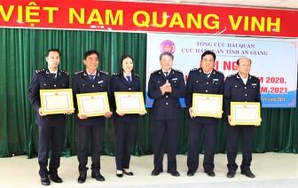 Cục Hải quan An Giang quyết tâm thực hiện thắng lợi nhiệm vụ năm 2021