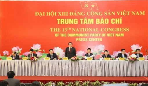 1.587 đại biểu về dự Đại hội XIII của Đảng, đông nhất trong 13 kỳ Đại hội Đảng toàn quốc