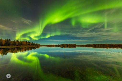 'Vũ điệu ánh sáng' tuyệt đẹp soi sáng bầu trời Na Uy
