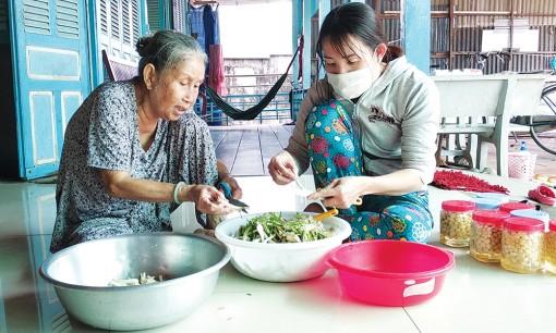 Sản xuất dưa cải, dưa kiệu mùa Tết