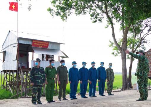 Màu xanh dân quân trên chốt biên giới