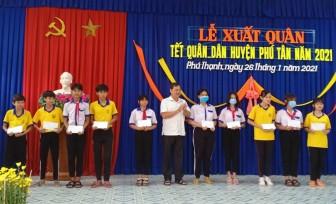 Phú Tân xuất quân Tết quân - dân 2021