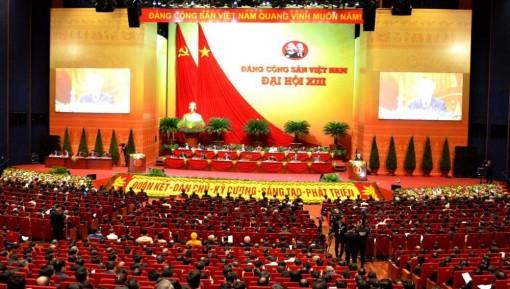 Hình ảnh lễ khai mạc trọng thể Đại hội lần thứ XIII của Đảng