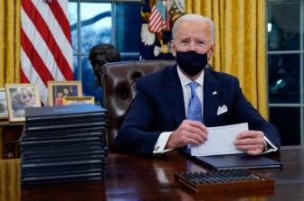 Tổng thống Biden lập kỷ lục ký nhiều sắc lệnh nhất trong tuần đầu nhậm chức