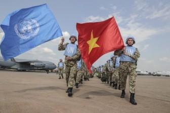 Việt Nam tham gia hoạt động gìn giữ hòa bình LHQ: Bước phát triển mới