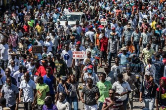 Hàng nghìn người biểu tình ở thủ đô của Haiti